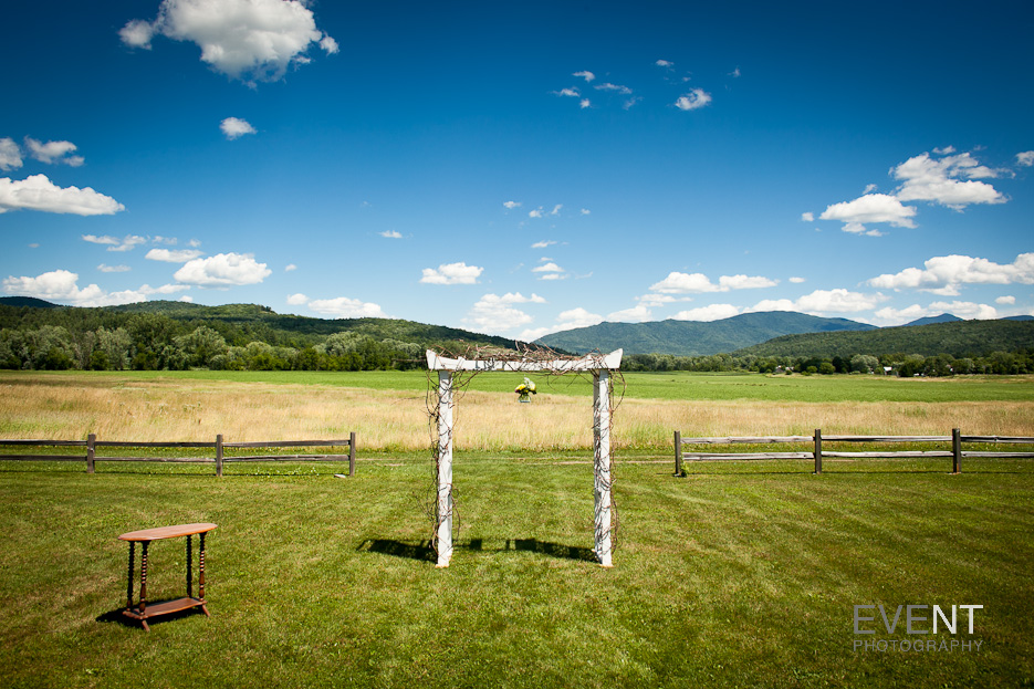 Robyn & Keith are wed at the Boyden Valley Farm in Cambridge, Vermont. by Wedding photographers at Eve Event Photography