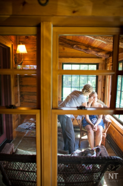 Kelly and Sepehr are wed at Whiteface Lodge in Lake Placid, New York. by Eve Event Photography