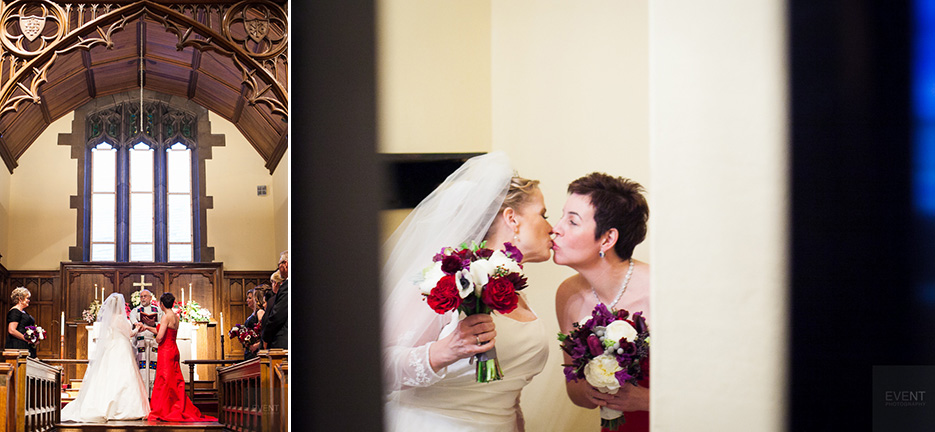 Sheri and Jen are wed at the Woodstock Inn & Resort in Woodstock Vermont. By Vermont wedding photographers at Eve Event Photography.