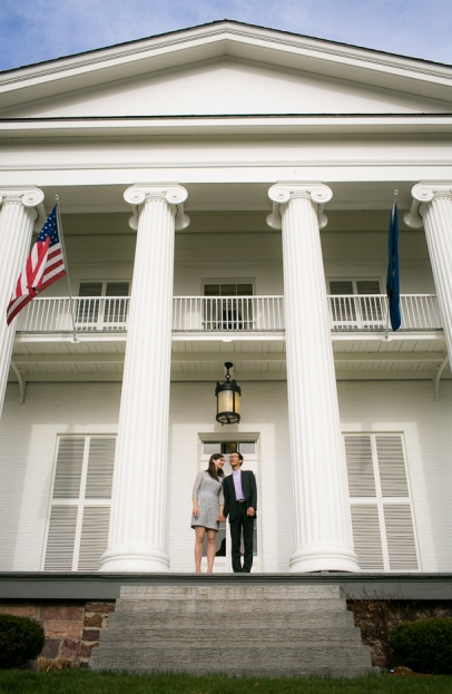 Anna and Chin are wed at City Hall in Burlington, Vermont.