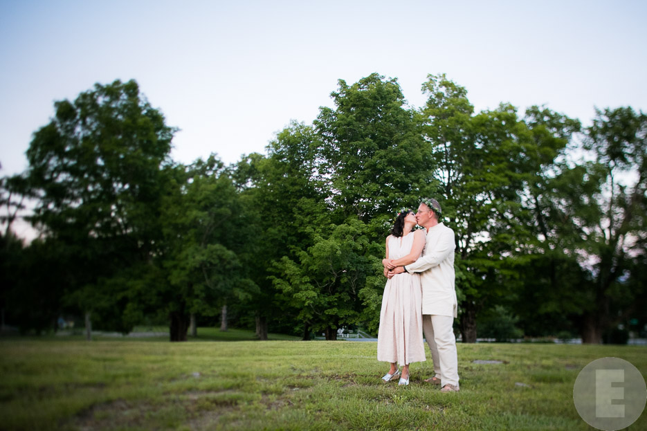 Sara and Roy are wed at Acworth Town Hall in New Hampshire. By Vermont wedding photographers at Eve Event Photography