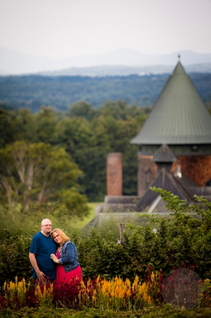 Engagement Session at Shelburne Farms